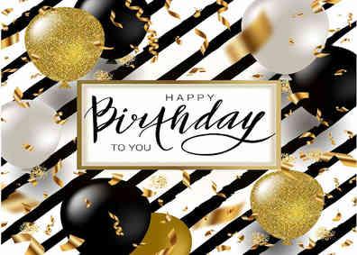 Nummer 22 Happy Birthday