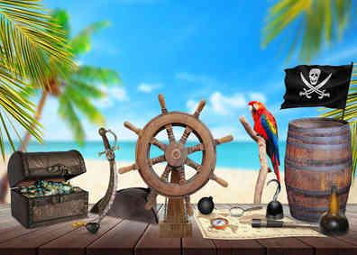 Nummer 18 Pirat Schatz