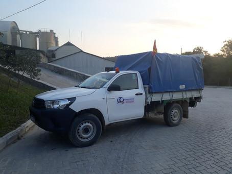 Aquisição de veículo para a mineração