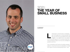 Pymnts.com Feature: 2021 - The Year of Small Business