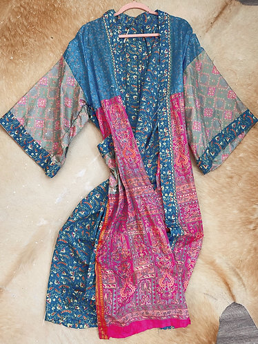 Vintage Silk Duster