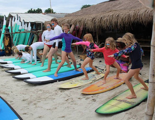 surfing lessons in lombok