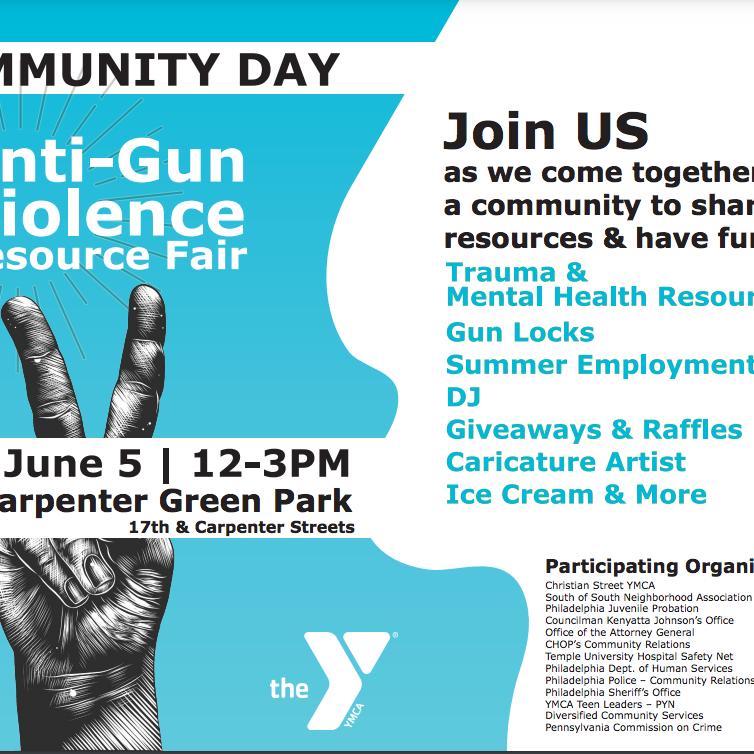 Anti Gun Violence Resource Fair