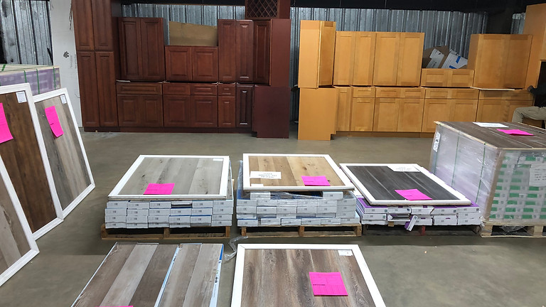 LIVE in Myrtle Beach! Special Cabinet & Flooring Auction!