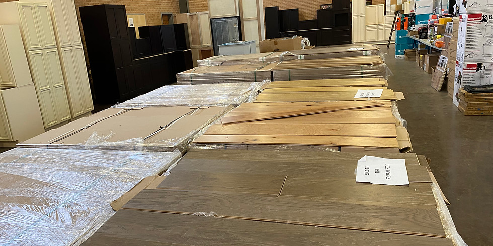 Huge Home Remodeling & Building Supply Auction in Salisbury!