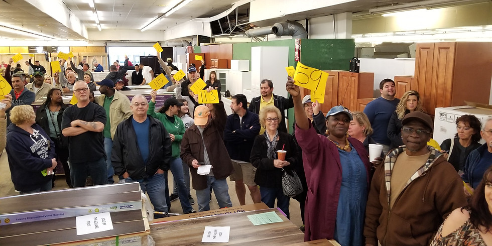 LIVE Home Remodeling/Building Material Auction in Greenville!