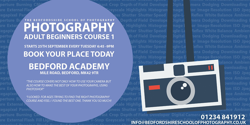Beginners Photography & Photoshop - Course 1