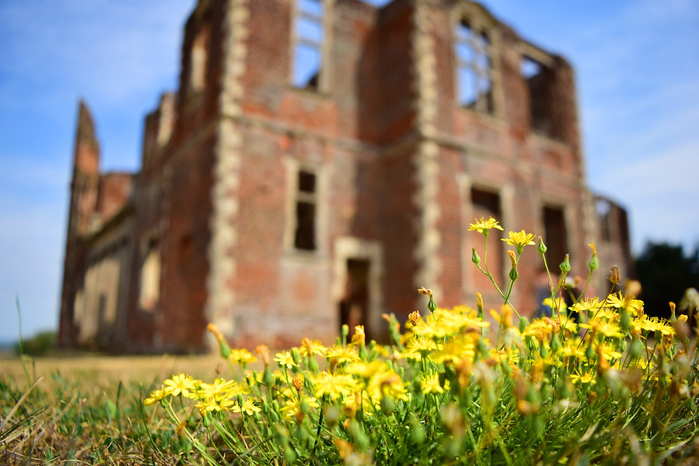 Houghton House Befordshire taken by Hugo Crannis as part of the Bedfordshire School of Photography Summer Course