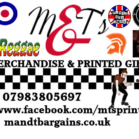 M&T's Personalised Printed gifts