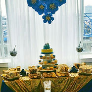 Royal Prince theme dessert table