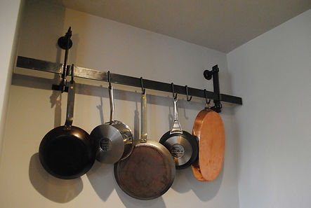 Pot rail Joel Tarr artist blacksmith