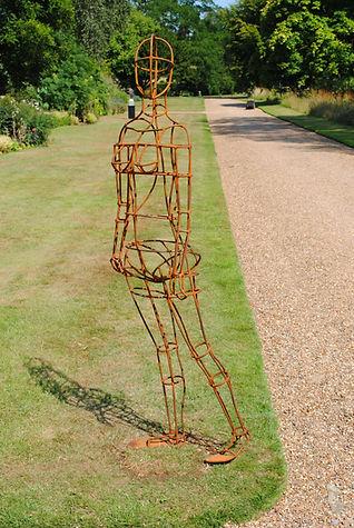 Human sculpture Joel Tarr artist blacksmith