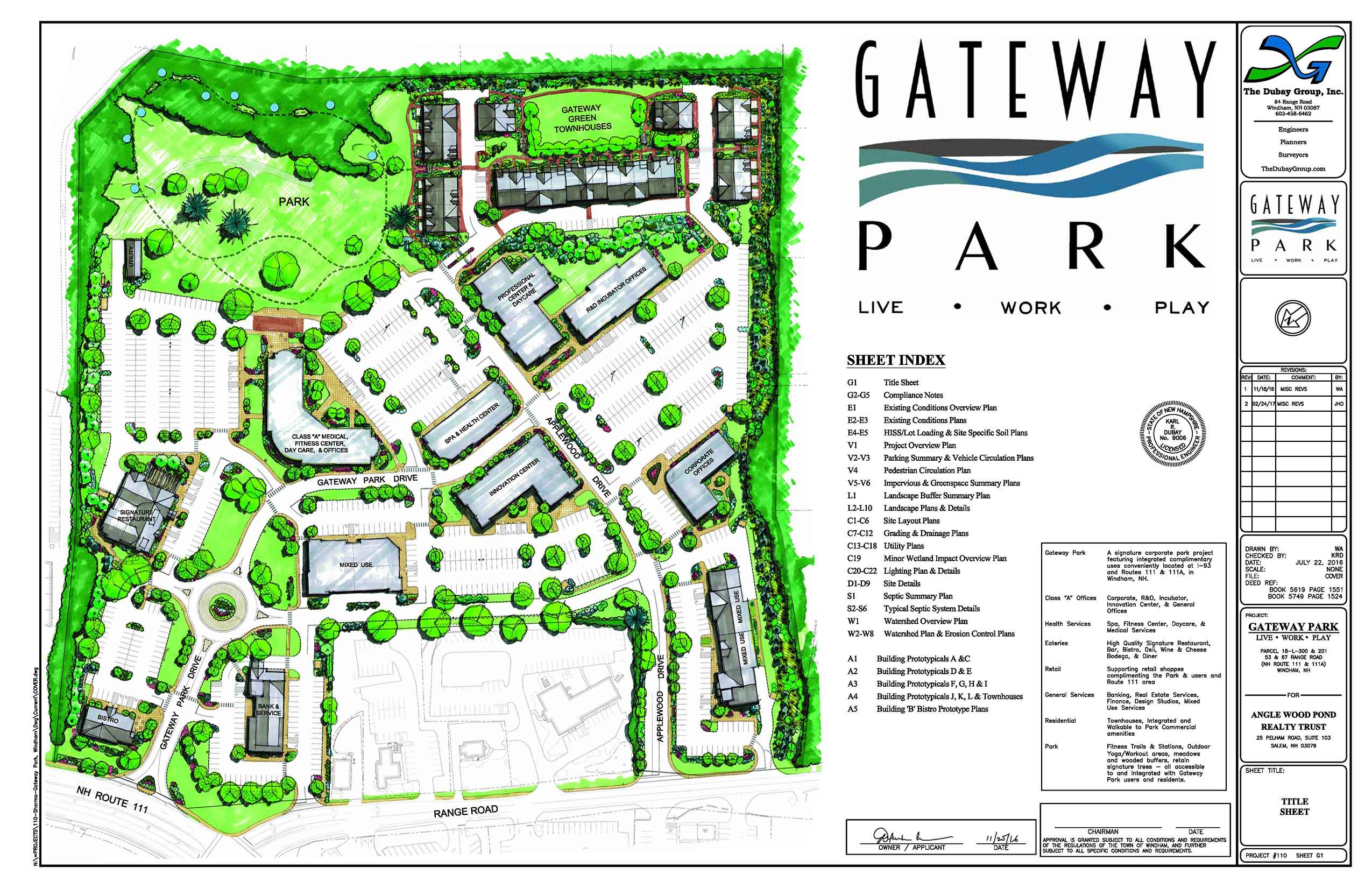 Gateway Park - Windham, NH