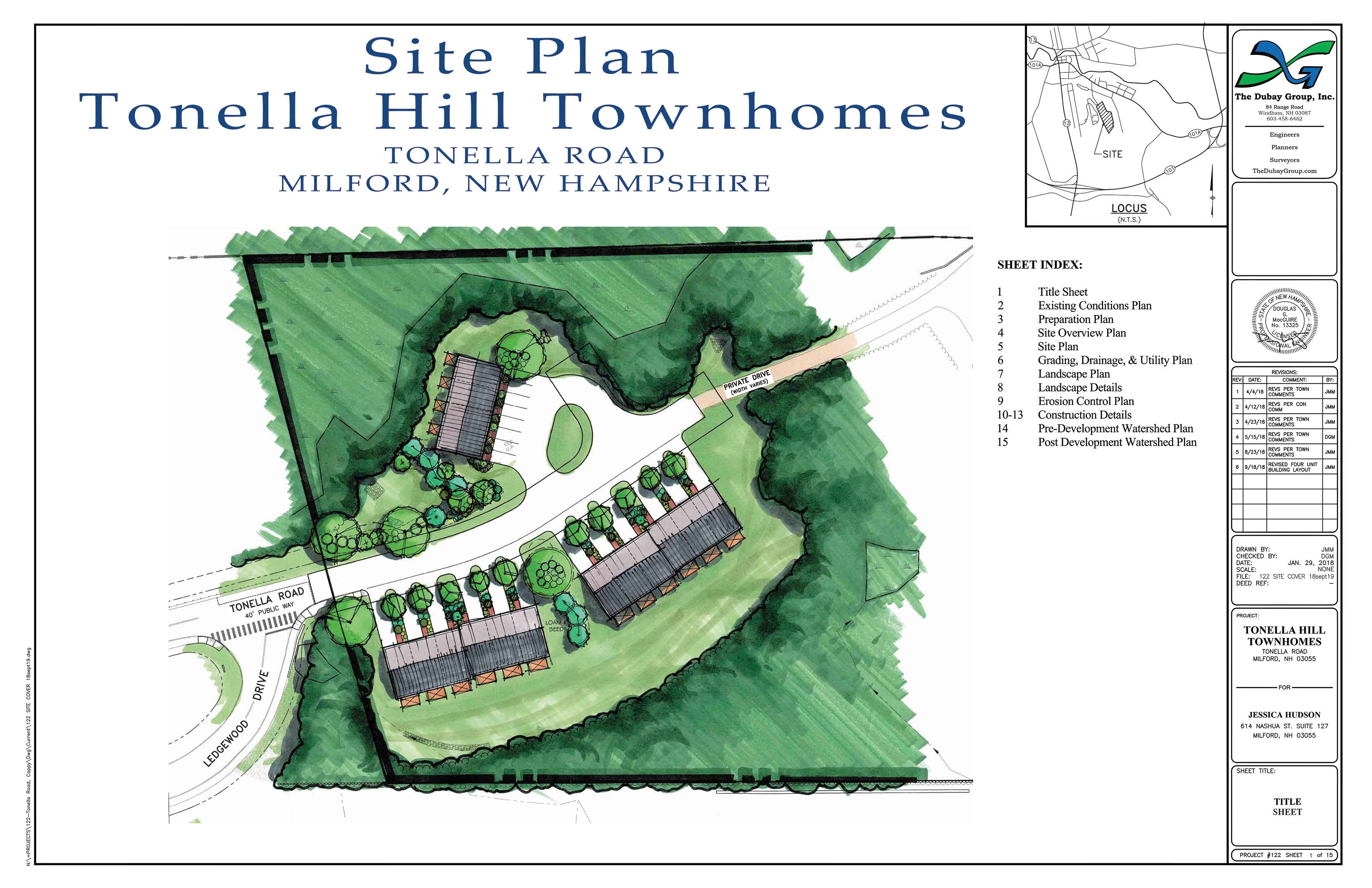 Tonella Hill Townhomes - Milford, NH