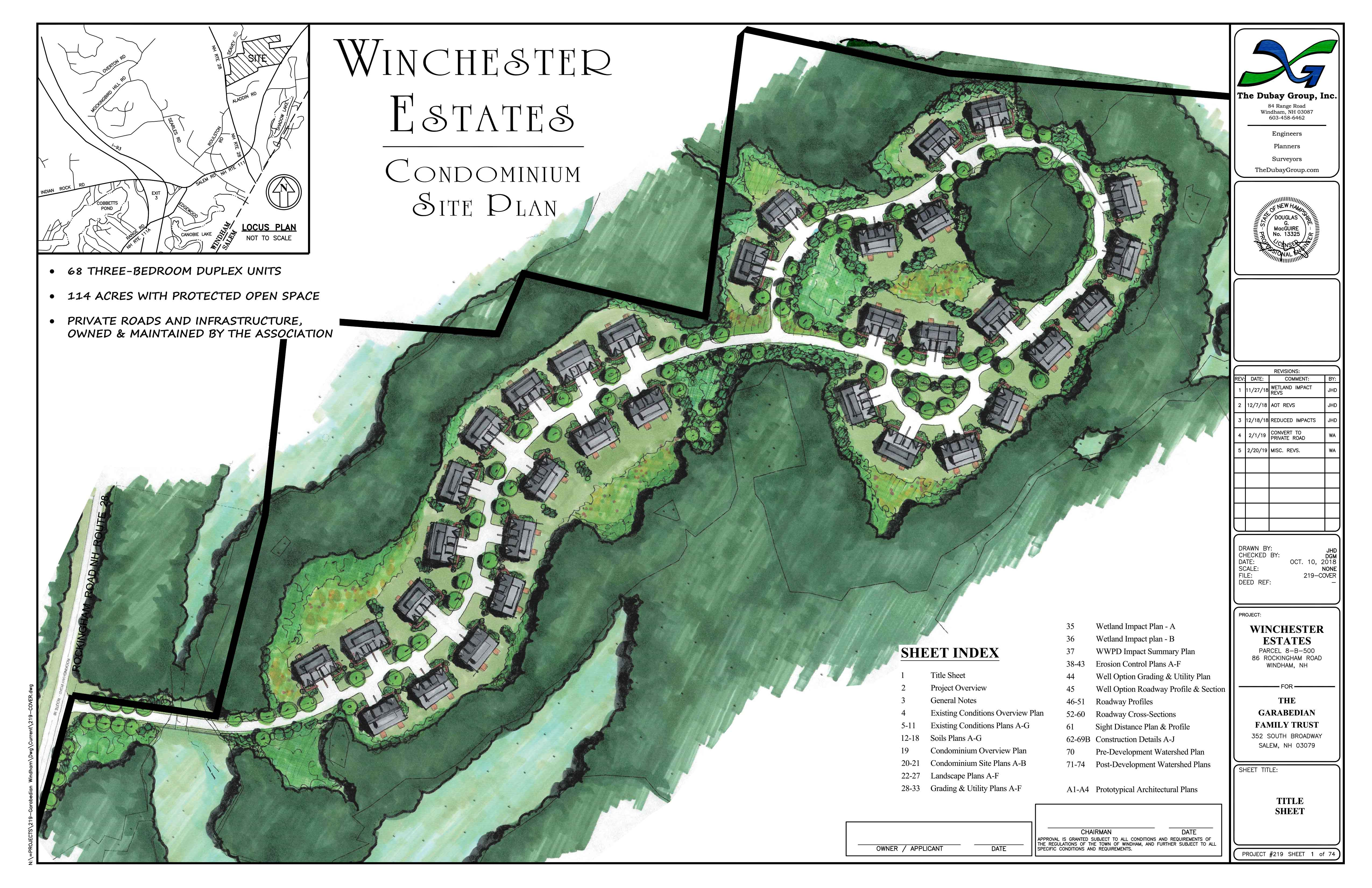 Winchester Woods Estates - Windham