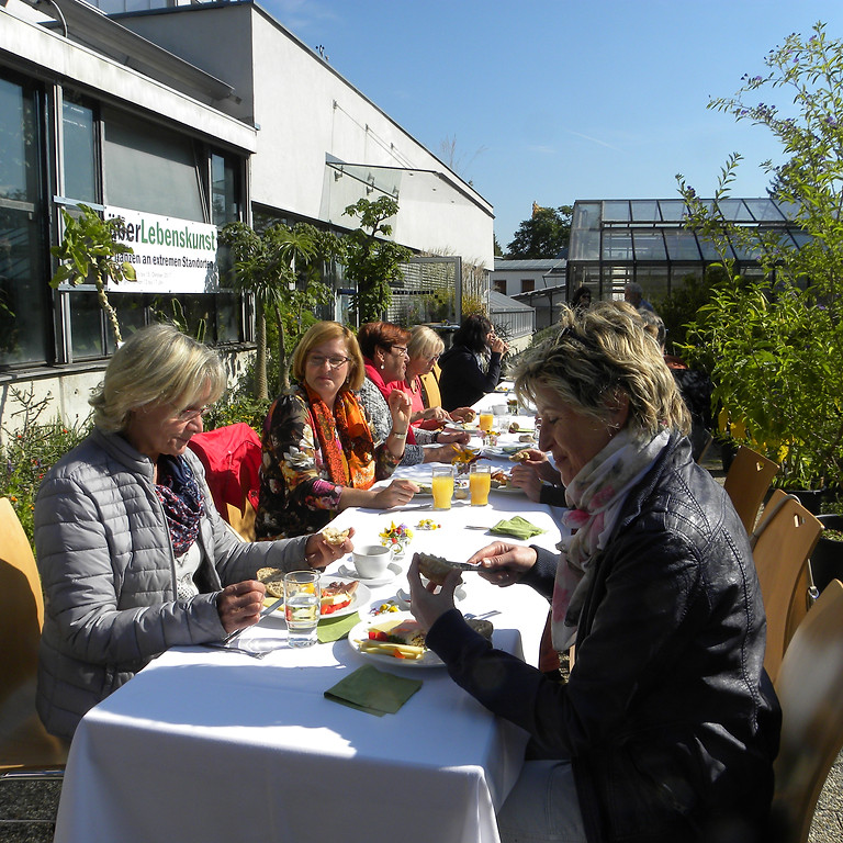 Brunch im Gartensalon
