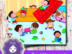 Deixe o seu bebê agarrar um livro!!!