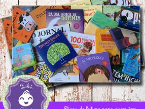 Livros nacionais, para o bebê brasileiro