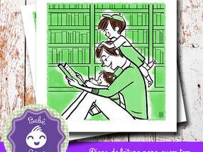 A leitura do pai é diferente da leitura da mãe?