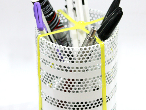 Organize writing utensils