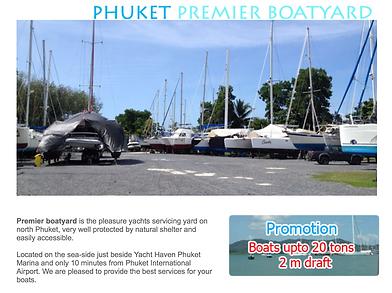 Phuket Premier Boatyard