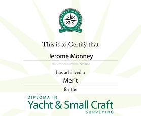 MTA Certificate
