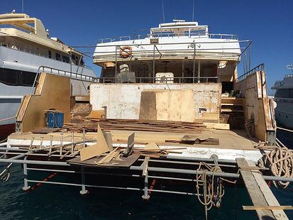Dive Yacht Re-fit