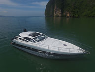 Sea Trial with Pershing in Phuket Thailand