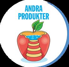 Bubbelpool designad som ett äpple
