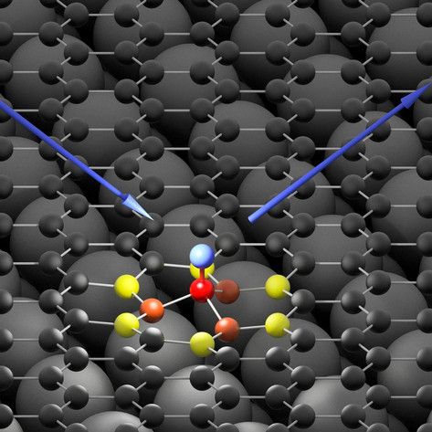 Stickier than expected: Hydrogen binds to graphene in 10 femtoseconds