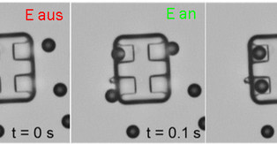 Novel approach to self-assembling mobile micromachines