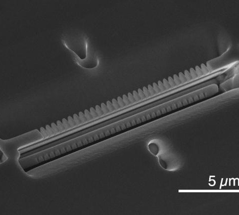 Tiny optical cavity could make quantum networks possible