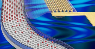 Novel acoustofluidic technology that isolates submicron particles in nanocavities