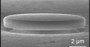 High-efficiency laser for silicon chips