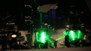 A nanoscale laser made of gold and zinc oxide
