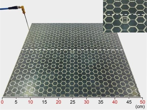 Microstrip arrays used in this research @ NIMS