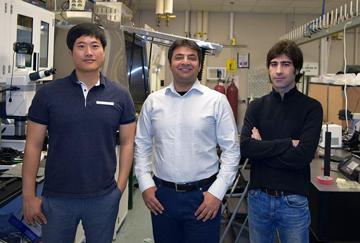 Anand and his team @ UIC Mechanical and Industrial Engineering