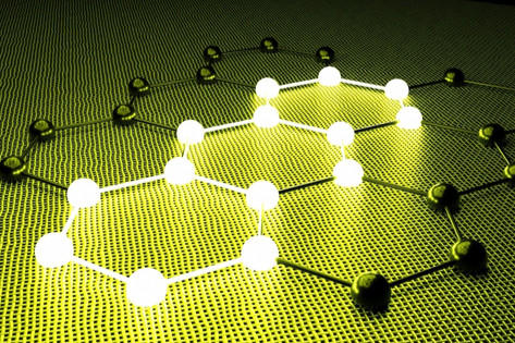 Mathematically-designed graphene has improved electrocatalytic activity