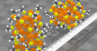 Machine learning predicts nanoparticles' structure and dynamics