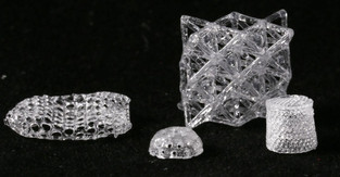 Glass from a 3D printer
