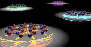 Light from stretchable sheets of atoms for quantum technologies