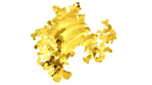Scientists create the world's thinnest gold