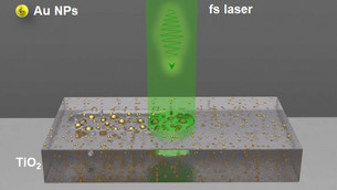 Scientists have created new nanocomposite from gold and titanium oxide