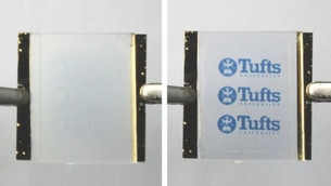 New silk materials can wrinkle into detailed patterns, then unwrinkle to be 'reprinted'