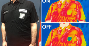 Graphene smart textiles developed for heat adaptive clothing