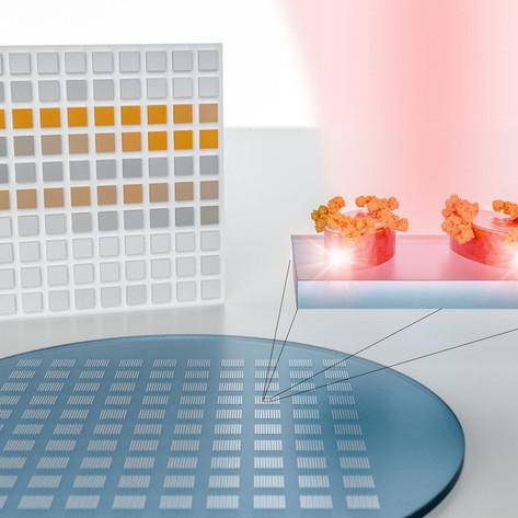 A nanotech sensor that turns molecular fingerprints into bar codes