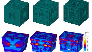 Shock-dissipating fractal cubes could forge high-tech armor