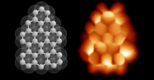 Unraveling the magnetism of a graphene triangular flake