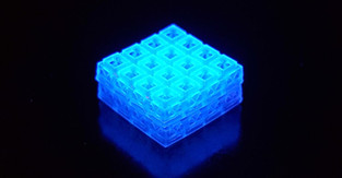 Lego-inspired bone and soft tissue repair with tiny, 3D-printed bricks