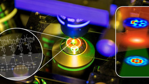 New method for the measurement of nano-structured light fields
